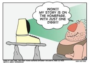 Cartoon web 2.0 history